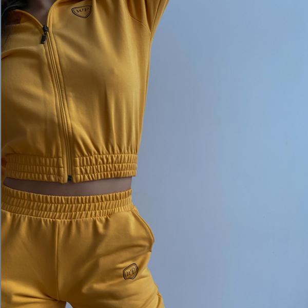 Krótka bluza z suwakiem (H15/3) patriziostore