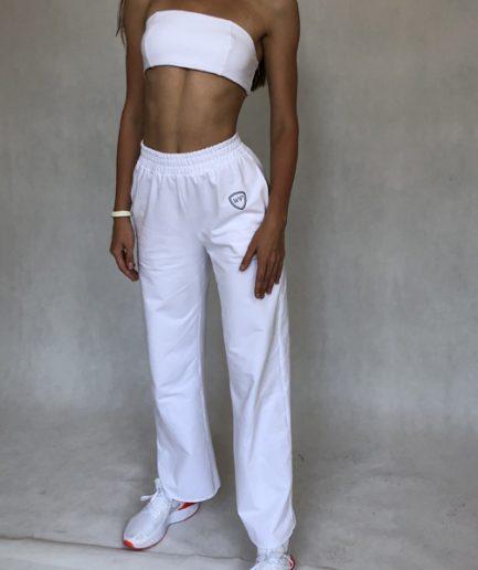 Luźne spodnie na co dzień swobodnego kroju z kloszem (LG10)