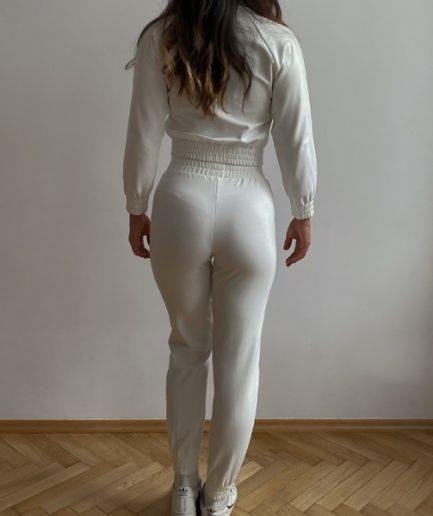 Obcisłe spodnie sportowe na co dzień na mankiecie (LG15)