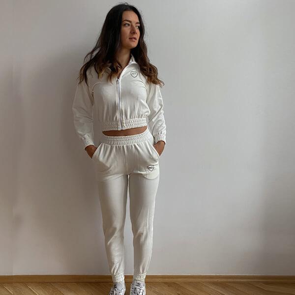 Luźne spodnie na co dzień na mankiecie (LG15)